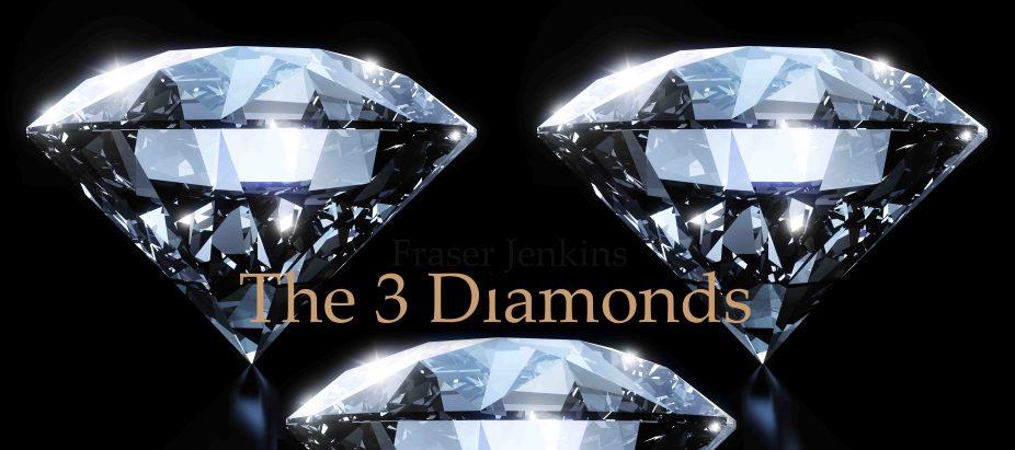 3 diamond logo